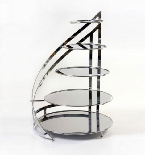 Stojak metalowy spiral V