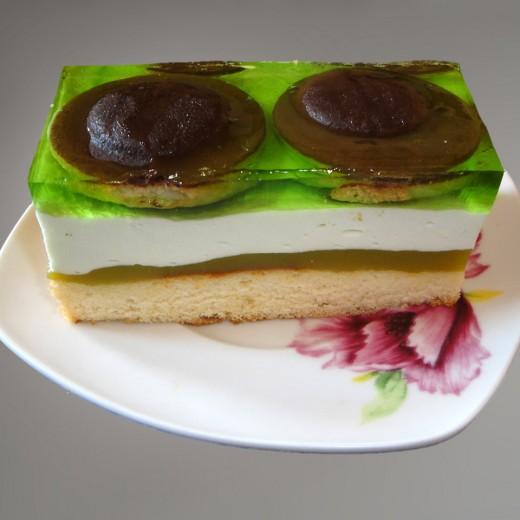 Ciasto-Shrek