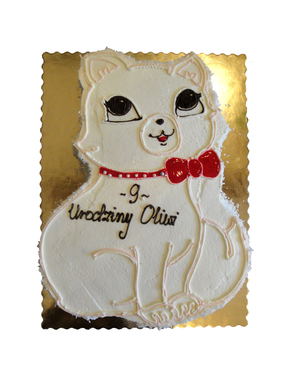 Tort Kot Nr2 Cukiernia Ciacholandia Torty I Ciasta Złotoryja